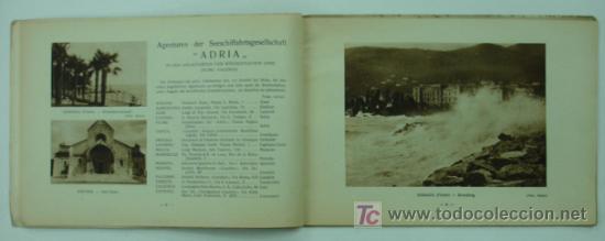 Líneas de navegación: ADRIA SOCIEDAD ANONIMA DE NAGEVACION MARITIMA - FIUME. CATÁLOGO LINEA DE NAVEGACION ADRIA - FIUME. - Foto 4 - 15914156