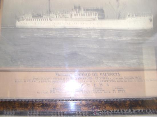 Líneas de navegación: BARCO.MOTONAVE CIUDAD DE VALENCIA - Foto 3 - 26002600