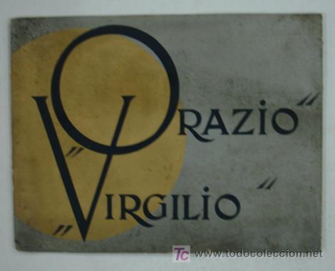 ORAZIO Y VIRGILIO. NAVIGAZIONE GENERALE ITALIANA. MEDITERRANEO, CENTRO AMERICA, SUD PACIFICO. (Coleccionismo - Líneas de Navegación)