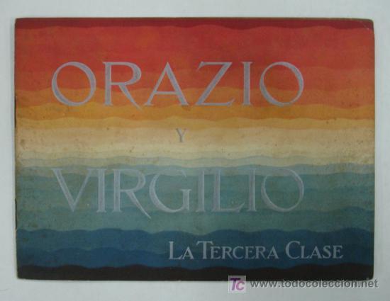 ORAZIO Y VIRGILIO. NAVIGAZIONE GENERALE ITALIANA. BUQUES MOTORES DE 11600 TONS CON DOS HÉLICES. (Coleccionismo - Líneas de Navegación)