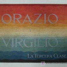 Líneas de navegación: ORAZIO Y VIRGILIO. NAVIGAZIONE GENERALE ITALIANA. BUQUES MOTORES DE 11600 TONS CON DOS HÉLICES. . Lote 17730367