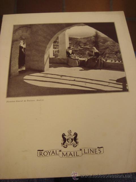 CARTA DE RESTAURANTE .-ROYAL MAIL LINES (Coleccionismo - Líneas de Navegación)