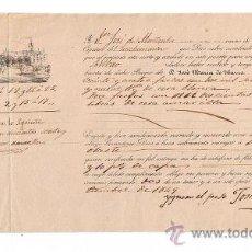 Líneas de navegación: CONOCIMIENTO DE EMBARQUE. DE SEVILLA A BILBAO EN EL CATAMARÁN NRA. SRA. DEL CARMEN CON CARGA DE. Lote 21643570