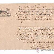 Líneas de navegación: CONOCIMIENTO DE EMBARQUE DE SEVILLA A VERA EN EL MÍSTICO MANOLITA, CON CARGA DE QUINIENTAS CIN-. Lote 21652491