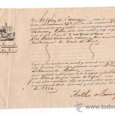 Líneas de navegación: CONOCIMIENTO DE EMBARQUE. DE SEVILLA A SANTANDER Y BILBAO EN EL CATAMARÁN NRA. SRA. DEL CARMEN. Lote 21660078