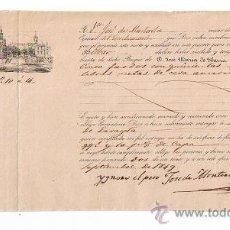 Líneas de navegación: CONOCIMIENTO DE EMBARQUE DE SEVILLA A BILBAO EN CATAMARAN NTRA. SRA. DEL CARMEN CON CARGA DE . Lote 21770125