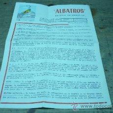 Líneas de navegación: LINEAS DE NAVEGACION-ALBATROS-MONTE UMBE-NAVIERA AZNAR. Lote 21981406