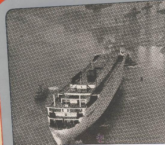 Líneas de navegación: The new-Caronia-cunard white star-folleto presentacion de los astilleros.Desplegable de 4 cuerpos - Foto 5 - 22668838