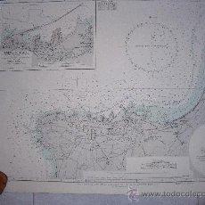 Líneas de navegación: CARTA NAUTICA/NAVEGACION: BEIRUT. Lote 23135849