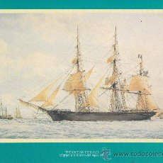 Líneas de navegación: THE OCEAN HERALD (CLIPPER AMERICANO DEL SIGLO XIX)/ A. 22.5X29.5. LÁMINA. LÁMINA. BUENO THE OCEAN HE. Lote 24783292
