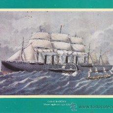 Líneas de navegación: GREAT EASTERN (VAPOR INGLÉS DEL SIGLO XIXI)/ A. 22.5X29.5. LÁMINA. LÁMINA. BUENO GREAT EASTERN (VAPO. Lote 24783563