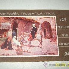 Líneas de navegación: COMPAÑÍA TRASATLÁNTICA, PAQUEBOTS POSTE ESPAGNOLS-TIPOGRAFÍA : EL SIGLO XX, BARCELONA-S/F.-. Lote 28600580