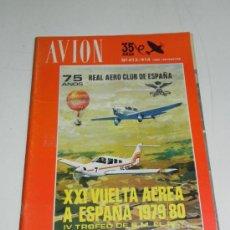 Líneas de navegación: REVISTA TECNICA DE AVION, N. 413 Y 414 AÑO 1980, EDITADAS POR EL REAL AEROCLUB DE ESPAÑA - MIDEN 29 . Lote 30107955