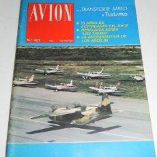 Líneas de navegación: REVISTA TECNICA DE AVION, N. 421 AÑO 1981, EDITADAS POR EL REAL AEROCLUB DE ESPAÑA - MIDEN 29 X 22 C. Lote 30109070