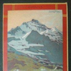 Líneas de navegación: WENGERNALP. BAHN. JUGFRAU. 1906.(VER FOTOS ADICIONALES). Lote 30598792