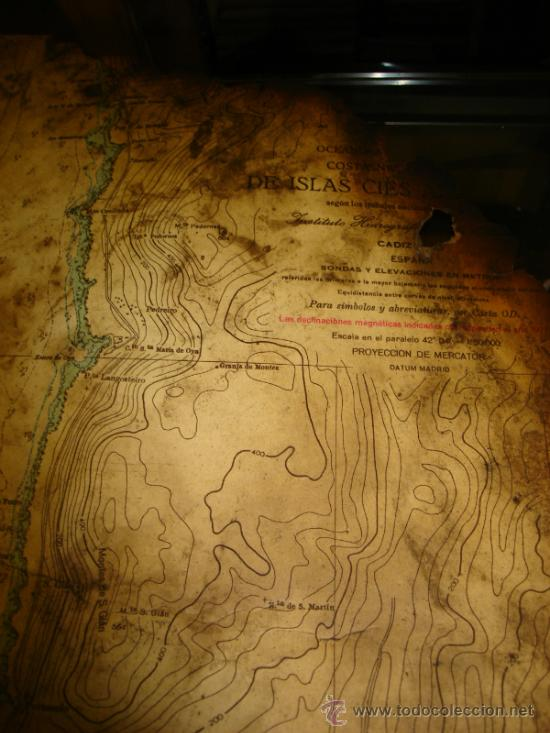 Líneas de navegación: PETROLERO CAMPONAVIA. CARTA DE NAVEGACION Y LISTA DE EMBARQUE. EXPLOSION. PETROGEN ONE. LEER - Foto 6 - 136075954