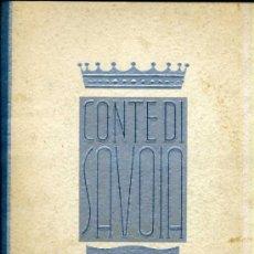 Líneas de navegación: NAVÍO TRASATLÁNTICO CONTE DI SAVOIA - THE FIRST CLASS - LUJOSO CATÁLOGO DE 32 PÁGINAS (1932). Lote 33066346