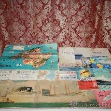 Líneas de navegación: INTERESANTE LOTE DE CATÁLOGOS DE DISTINTAS COMPAÑÍAS MARÍTIMAS DE LOS AÑOS 40/50. Lote 35730159
