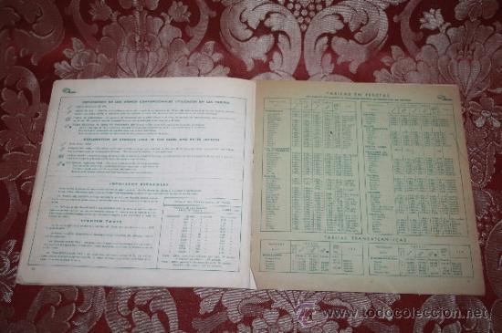 Líneas de navegación: INTERESANTE LOTE DE CATÁLOGOS DE DISTINTAS COMPAÑÍAS MARÍTIMAS DE LOS AÑOS 40/50 - Foto 12 - 35730159