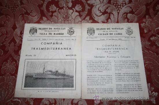 Líneas de navegación: INTERESANTE LOTE DE CATÁLOGOS DE DISTINTAS COMPAÑÍAS MARÍTIMAS DE LOS AÑOS 40/50 - Foto 13 - 35730159
