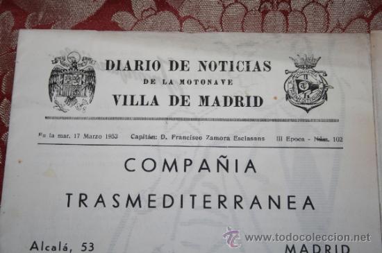 Líneas de navegación: INTERESANTE LOTE DE CATÁLOGOS DE DISTINTAS COMPAÑÍAS MARÍTIMAS DE LOS AÑOS 40/50 - Foto 14 - 35730159