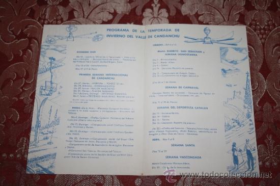 Líneas de navegación: INTERESANTE LOTE DE CATÁLOGOS DE DISTINTAS COMPAÑÍAS MARÍTIMAS DE LOS AÑOS 40/50 - Foto 39 - 35730159