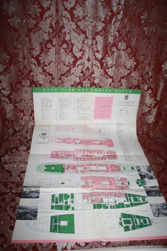 Líneas de navegación: INTERESANTE LOTE DE CATÁLOGOS DE DISTINTAS COMPAÑÍAS MARÍTIMAS DE LOS AÑOS 40/50 - Foto 44 - 35730159