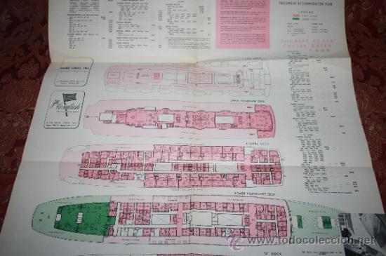 Líneas de navegación: INTERESANTE LOTE DE CATÁLOGOS DE DISTINTAS COMPAÑÍAS MARÍTIMAS DE LOS AÑOS 40/50 - Foto 46 - 35730159