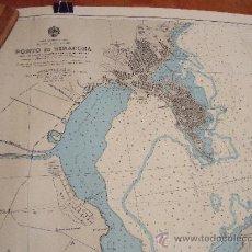 Líneas de navegación: CARTA NAUTICA/NAVEGACION: PORTO DI SIRACUSA. Lote 36718105
