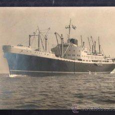 Líneas de navegación: COLECCION 14 FOTOGRAFIAS DEL BUQUE GUADALUPE EN SU VIAJE INAUGURAL NUEVA YORK . 1953. LEER. Lote 37103377