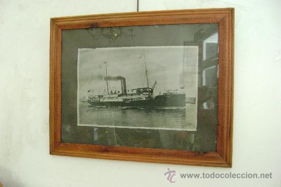 BARCO VICENTE PUCHOL (Coleccionismo - Líneas de Navegación)