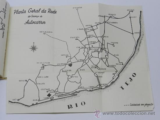 Líneas de navegación: GUIA INFORMATIVO DO SERVIÇO DE AUTOCARROS E CARROS ELÉCTRICOS, tranvia, autobus, Lisboa : Comp. Carr - Foto 2 - 37865477