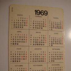 Líneas de navegación: ANTIGUO CALENDARIO PUBLICIDAD AÑO 1969 MUY BUEN ESTADO. L40. Lote 41311199