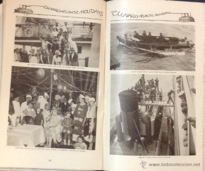 Líneas de navegación: CUNARD ATLANTIC HOLIDAYS. TOUR USA & CANADA. 1926. - Foto 8 - 44138464