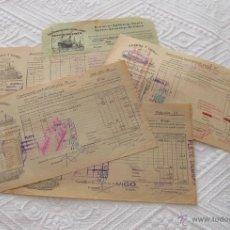 Líneas de navegación: LOTE Nº 6 DE 5 CONOCIMIENTOS DE EMBARQUE NAVIERAS YBARRA Y NEPTUM-BREMEN. Lote 45913860