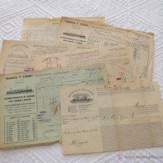 Líneas de navegación: LOTE Nº 5 DE 6 CONOCIMIENTOS DE EMBARQUE NAVIERAS YBARRA Y STEAMERS 1909 Y 1939. Lote 45914012