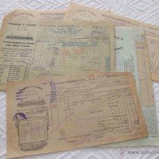 Líneas de navegación: LOTE Nº 3 DE 5 CONOCIMIENTOS DE EMBARQUE NAVIERA YBARRA Y SLOMAN. Lote 45914309