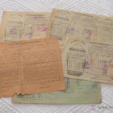 Líneas de navegación: LOTE Nº 2 DE 5 CONOCIMIENTOS DE EMBARQUE NAVIERA YBARRA Y TRASATLANTICA 1939 Y 1890. Lote 45914470