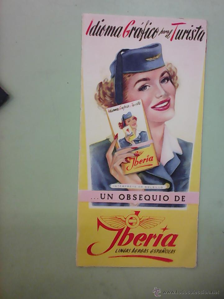 INSTUCCIONES DE VUELO DE IBERIA DE 1954 (Coleccionismo - Líneas de Navegación)