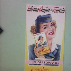 Líneas de navegación: INSTUCCIONES DE VUELO DE IBERIA DE 1954. Lote 46770074