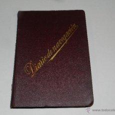 Líneas de navegación: LIBRO DIARIO DE NAVEGACION - LINEA DE VAPORES PINILLOS 1911, HABANA, PUERTO RICO, VALENCIA, CADIZ ,. Lote 47576581