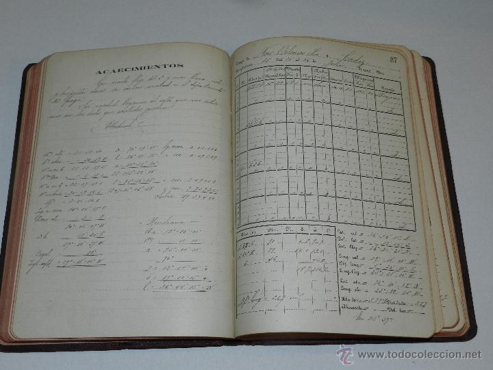 libro diario de navegacion - linea de vapores p - Comprar