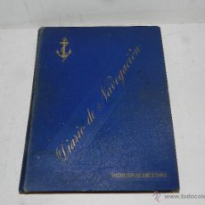 Líneas de navegación: DIARIO DE NAVEGACION DECLARADO DE UTILIDAD 13 DE AGOSTO 1907, MARINA MERCANTE 1909. Lote 47801474