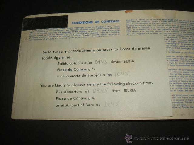 Líneas de navegación: SCANDINAVIAN COMPAÑIA AEREA TICKET DE PASAJERO Y EQUIPAJE VUELO IDA Y VUELTA FRANKFURT MADRID MALAGA - Foto 2 - 48737948