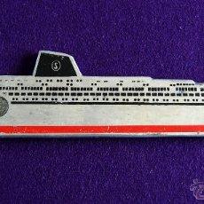 Líneas de navegación: ABREBOTELLAS DE ALUMINIO DE LA LINEA SIOSA LINE. AÑOS 50. (ABRIDOR - ABREBOTELLA - ABRECHAPAS). Lote 49057323