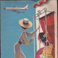 Líneas de navegación: DOSSIER CARPETITA PUBLICITARIO IBERIA LINEAS AEREAS DE ESPAÑA . Lote 51592751