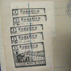 Líneas de navegación: 1958 CUADERNO DE MAQUINAS DEL BUQUE CON 5 SELLOS ESCUELAS MEDIAS DE PESCA. Lote 53964140
