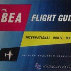 Líneas de navegación: BEA - FLIGHT GUIDE. Lote 54030918