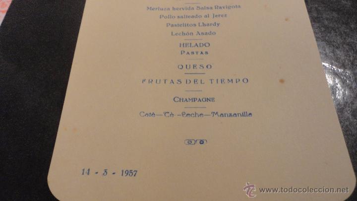 Líneas de navegación: COMPAÑIA TRASATLANTICO ESPAÑOLA.S.A.VAPOR CORREO MARQUES DE COMILLAS.LISTADO DE PASAJEROS.1957. - Foto 9 - 54135064