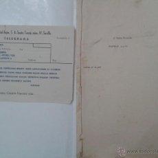 Líneas de navegación: DOCUMENTACIÓN DEL NAUFRAGIO Y HUNDIMIENTO DEL BARCO VAPOR SANTA FILOMENA, ALGECIRAS 1961. Lote 54565813
